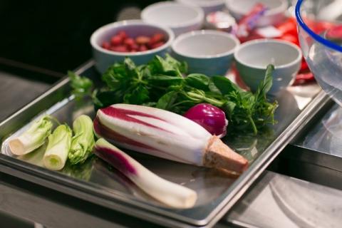 vassoio verdure